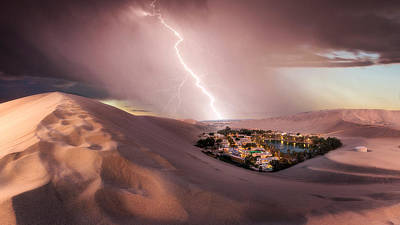Photograph - Huacachina Desert by Photography by KO