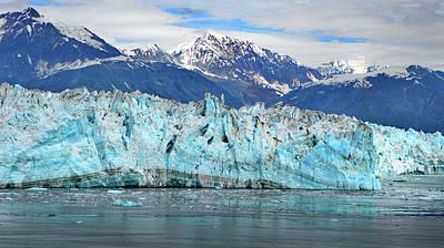 Photograph - Hubbard Glacier Alaska by Marilyn MacCrakin