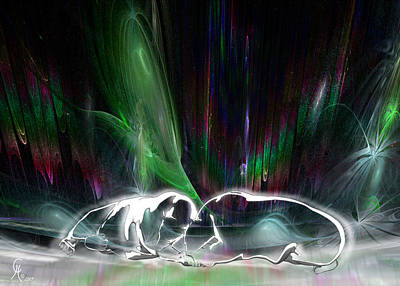 Abenaki Wall Art - Digital Art - Hudson Bay Dream by Carmen Hathaway
