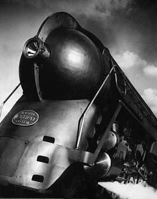 Photograph - Hudson Locomotive by Robert Yarnall Richie