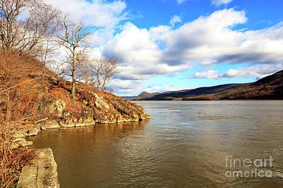 Photograph - Hudson River View At Bear Mountain by John Rizzuto