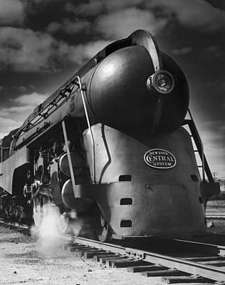 Photograph - Hudson Steam Loco by Lionel Green