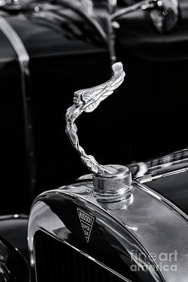 Photograph - Hudson Super Six Hood Ornament by Tim Gainey