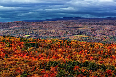 Photograph - Hudson Valley Ny Autumn by Susan Candelario