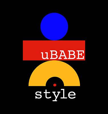 Digital Art - Hug Me Style by Ubabe Style