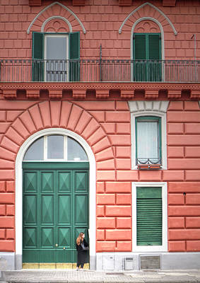 Photograph - Huge Apartment Door by Jacqui Boonstra