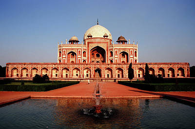 Photograph - Humayuns Tomb, Delhi by Kelly Cheng Travel Photography