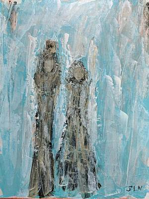 Painting - Humble Angels by Jennifer Nease