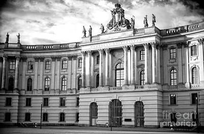 Photograph - Humboldt University Of Berlin by John Rizzuto