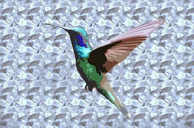 Wall Art - Digital Art - Hummingbird by Dene Brock