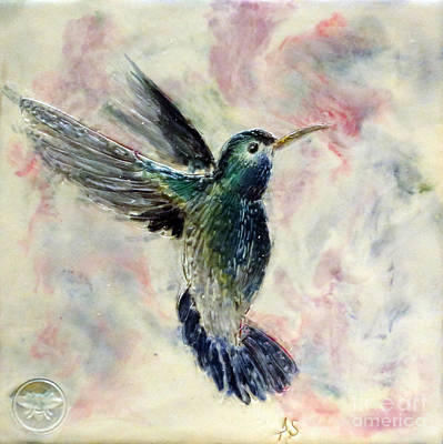 Hummingbird Flight Art Print