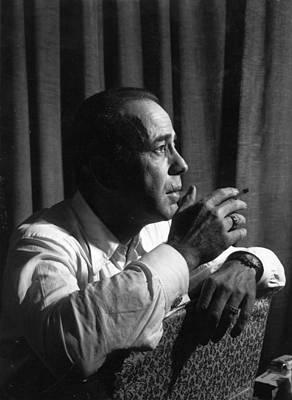 Photograph - Humphrey Bogart by R. Mitchell