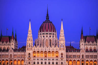 Royalty-Free and Rights-Managed Images - Hungarian Parliament by Andrew Soundarajan