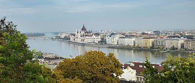 Photograph - Hungarian Parliament Budapest by Mark Duehmig
