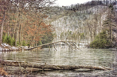 Photograph - Hungry Mother State Park - Winter Landscape by Kerri Farley