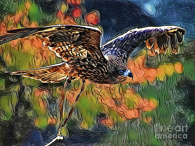 Painting - Hunter A18-79 by Ray Shrewsberry