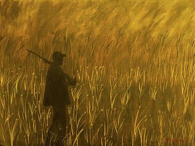 Painting - Hunter by Randy Sylvia