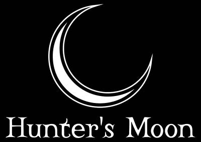 Digital Art - Hunter's Moon - White by Kristjan Cubranic