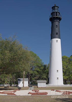 Photograph - Hunting Island Lighthouse 2 by Patrick M Lynch
