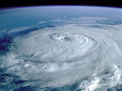 Photograph - Hurricane Elena by NASA Johnson Space Center