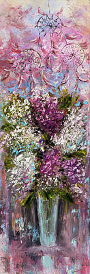 Still Life Royalty-Free and Rights-Managed Images - Hyacinth Bouquet by Boyan Dimitrov