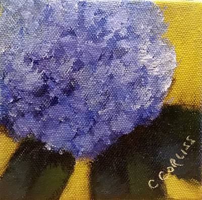Pastel - Hydrangea I by Carol Corliss