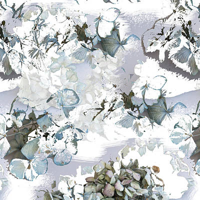 Photograph - Hydrangeas In Powder Blue by Jocelyn Friis