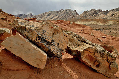 Photograph - I-70 Passes Through San Rafael Swell In Utah by Ray Mathis