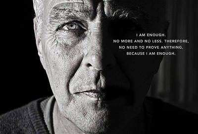 Photograph - I Am Enough Part 1 by ISAW Gallery