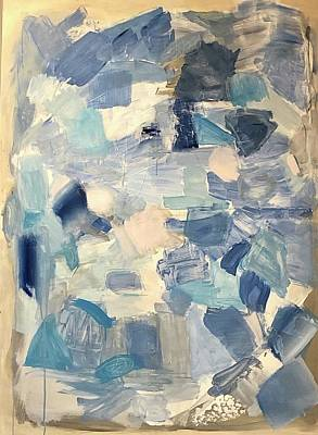Painting - I Am Never Blue With You. by Christine Zmuda