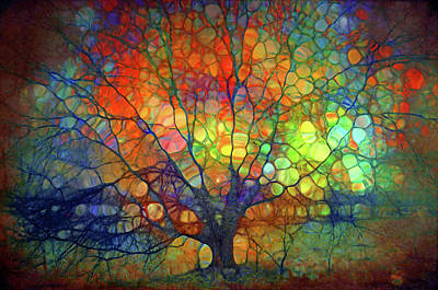 Digital Art - I Am So Much More Than These Bare Branches by Tara Turner
