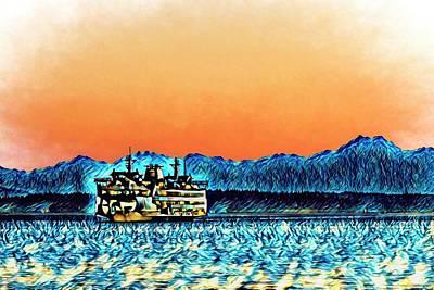 Digital Art - I Dreamt I Came Home by Scott Campbell