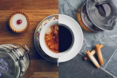 Photograph - I Drink Coffee, She Takes Tea by Photo By Rick Nunn - Ricknunn.com