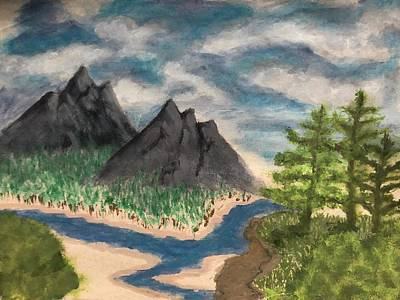 Painting - I have seen the mountain tops by Joshua Stepney