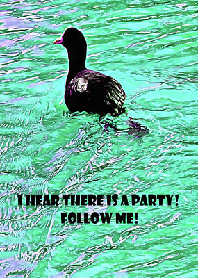 Mixed Media - I Hear There Is A Party by Dorothy Berry-Lound