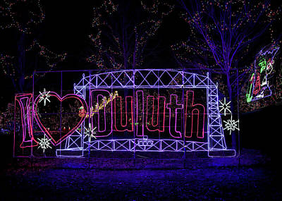 Photograph - I Heart Duluth by Susan Rissi Tregoning