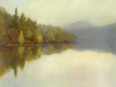 Painting - I Like It When It's Quiet Print by Betsy Derrick