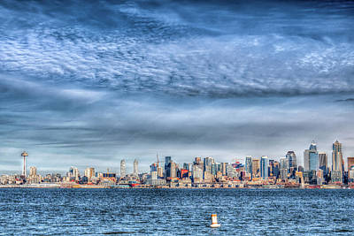 Photograph - I Love Seattle by Spencer McDonald