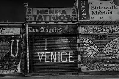 Photograph - I Love Venice  by John McGraw