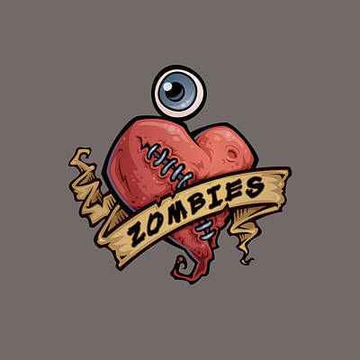 Royalty-Free and Rights-Managed Images - I Love Zombies by John Schwegel