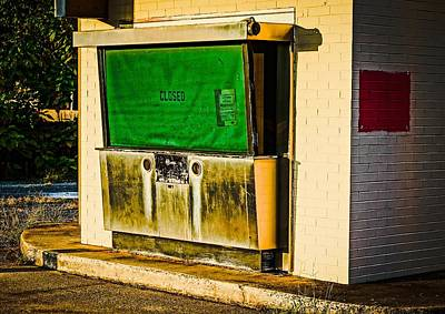 Photograph - I No Longer Bank Here by Rodney Lee Williams