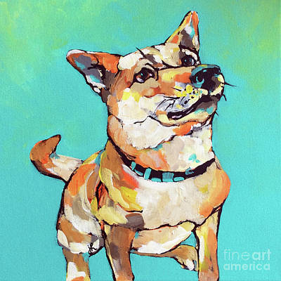 Painting - I See You Has Treats by Jeanette House