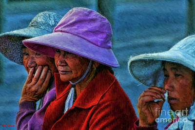 Photograph - I Took Her Hat by Blake Richards