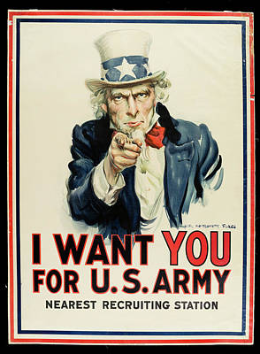 Photograph - I Want You For U.s. Army Poster by The New York Historical Society