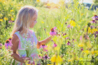 Painting - I Would Pick More Daisies ... by Chris Armytage