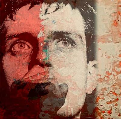 Mixed Media - Ian Kevin Curtis by Jayime Jean