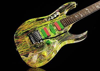 Photograph - Ibanez Jem20th Steve Vai Signature by Guitarist Magazine