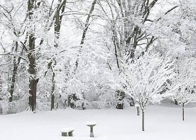 Belinda Landtroop Royalty Free Images - Ice and Snow2 Royalty-Free Image by Belinda Landtroop