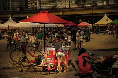 Photograph - Ice Cream by Juan Contreras