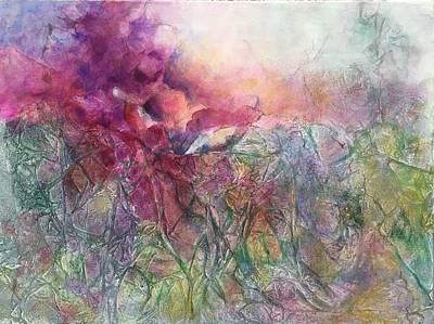 Wall Art - Painting - Ice Crystals by Jeanne Byron